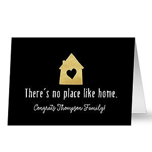 Personalized theres no place like home greeting card m4hsunfo