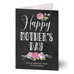 Personalized greeting card happy mothers day personalized greeting card happy mothers day 20459 m4hsunfo