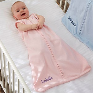 halo sleepsack personalized baby girl cotton wearable blanket baby