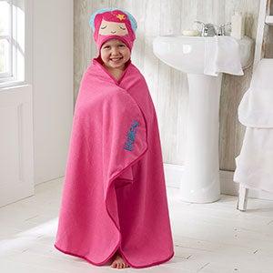 Personalized Mermaid Hooded Bath Towel - 20539