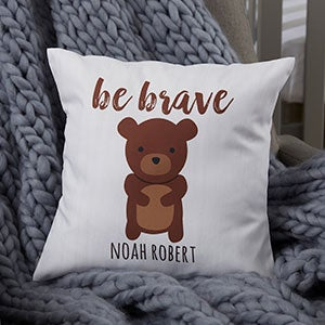 Woodland Adventure Characters Personalized Baby Pillows - 20565
