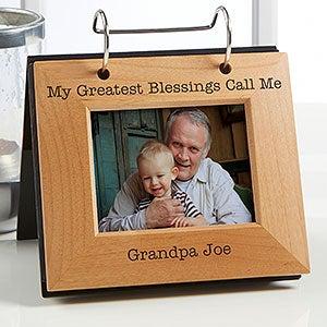 Personalized Photo Flip Album For Him - 20600
