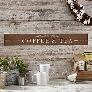 Personalized Coffee Sign - Coffee Bar - 20644