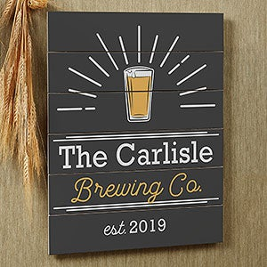 Personalized Shiplap Bar Signs - Public House - 20679