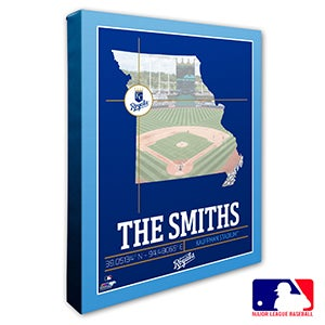 Kansas City Royals Personalized MLB Wall Art - 20705