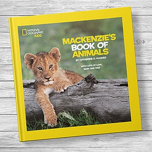 National Geographic: Personalized Kids Book of Animals - 20738D
