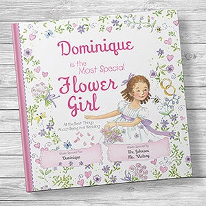 Personalized Flower Girl Book - The Most Special Flower Girl - 20743D