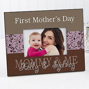 First Mother's Day Personalized Photo Frame - 20779