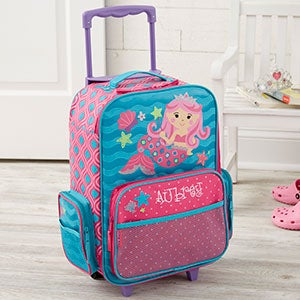 Personalized Kids Luggage - Pink Mermaid - 20806