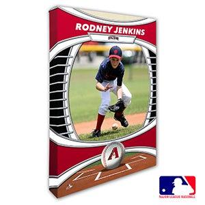 Arizona Diamondbacks Personalized MLB Photo Canvas Print - 20813