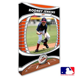 Baltimore Orioles Personalized MLB Photo Canvas Print - 20815