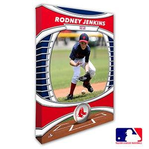 Boston Red Sox Personalized MLB Photo Canvas Print - 20816