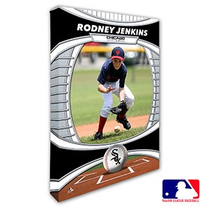 Chicago White Sox Personalized MLB Photo Canvas Print - 20818