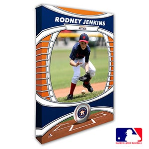 Houston Astros Personalized MLB Photo Canvas Print - 20824