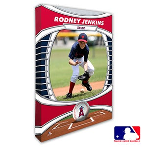 Los Angeles Angels Personalized MLB Photo Canvas Print - 20826