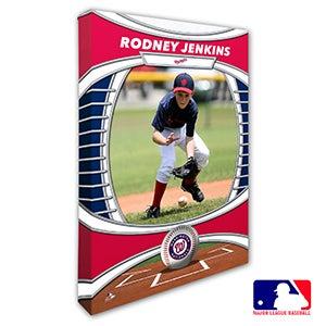 Washington Nationals Personalized MLB Photo Canvas Print - 20843