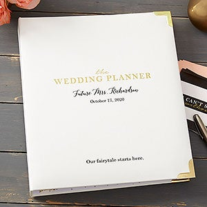 The Ultimate Bridal Personalized Wedding Planner - 20881