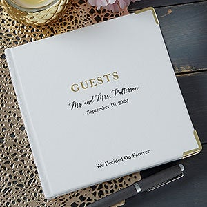 The Ultimate Personalized Wedding Guest Book - 21004