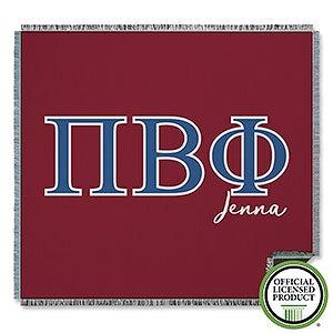 Pi Beta Phi Personalized Greek Letter Blankets - 21034