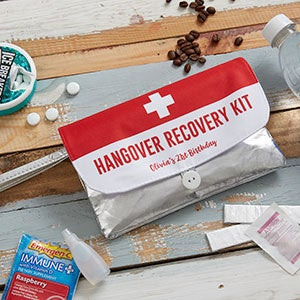 Birthday Survival Kit Personalized Wristlet - 21041