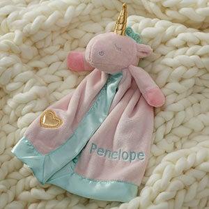 Personalized Unicorn Lovey - 21044