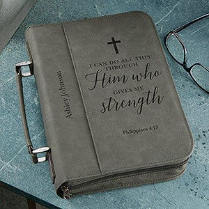 Personalized Bible Covers - Heavenly Quotes