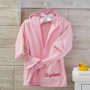 PersonalizedMonogrammed Infant Boy Robe with Tennis Racquets