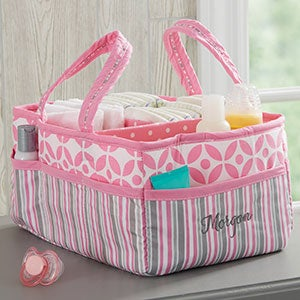 Personalized Diaper Caddy Organizer - 21138
