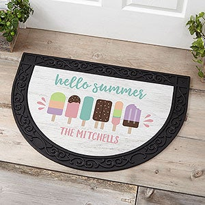 Personalized Summer Doormat - Summer Popsicle - 21175
