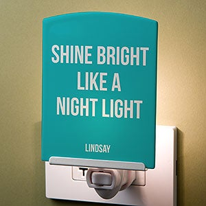 Personalized Night Light - Add Your Own Text - 21196