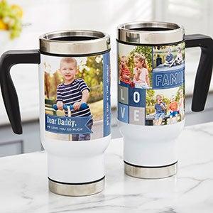 Dear Dad Personalized Photo Travel Mug - 21270