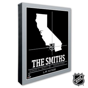 LA Kings Personalized NHL Wall Art - 21317