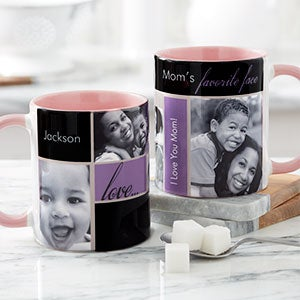Mom's Favorite Faces Photo Coffee Mugs - 21370
