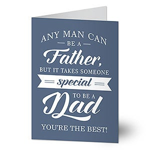 Personalized Father's Day Card - Special Dad - 21414