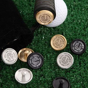 Personalized Golf Club Markers and Golf Ball Markers - 2160D