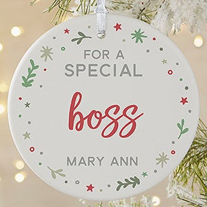 buy you are special christmas ornaments personalized with your own text create unique ornaments for friends neighbors teachers coworkers family members