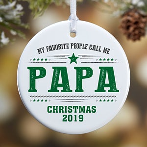 84b7f582b My Favorite People - Personalized Small Ornament - Christmas Clearance