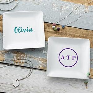 Personalized Ring Dish - Monogram or Name - 21778
