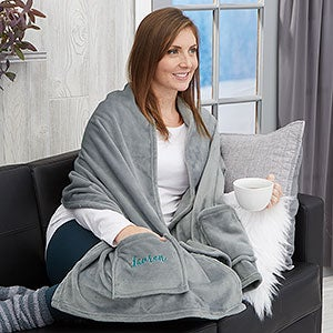 Personalized Cuddle Wrap Blanket - 21787
