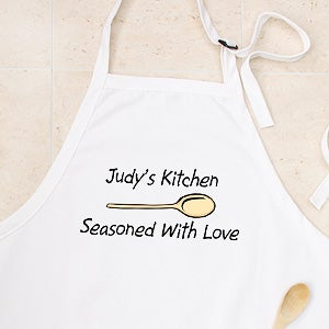 Custom Apron and Potholder Set - You Design it  - 2196
