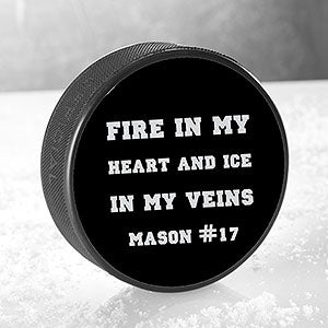 Sports Expressions Personalized Official Hockey Puck