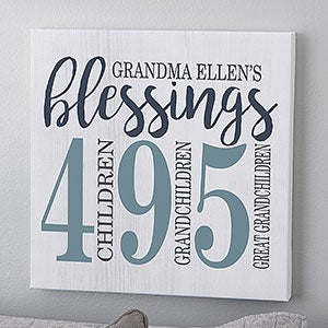 Create Unique Grandparents Gifts