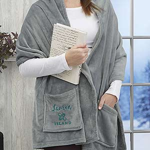 Personalized Business Logo Cuddle Wrap - 24519