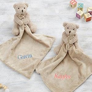 Teddy Bear Personalized Baby Lovey
