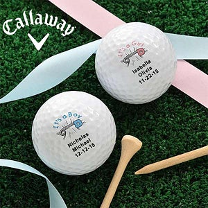 Custom Personalized New Baby Golf Balls - 2489