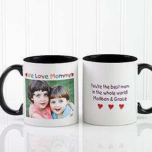 personalized photo coffee mugs loving her design