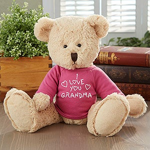 Personalization Mall Personalized All My Love Pink Teddy Bear at Sears.com