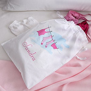 Ladies Personalized Travel Laundry Bag - 2796