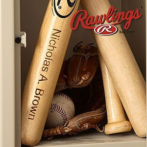 Personalized Wooden Baseball Bats - 2867