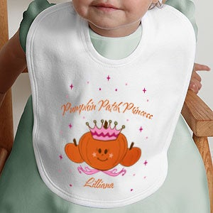 Personalization Mall Personalized Baby Bib - Pumpkin Princess at Sears.com